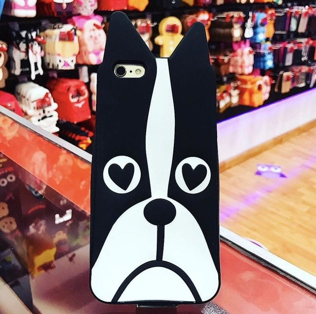 FUNDA ANIMADA BULL DOG