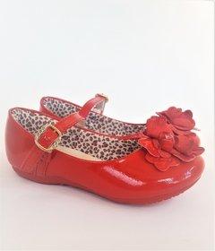 6d0ac2ab6a Sapatilha Infantil Vermelha Princesa Klin