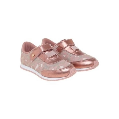 Tênis Infantil Mini Joy Bronze Pampili