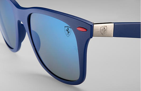 d0a81856be ... germany lentes ray ban scuderia ferrari collection wayfarer liteforce  4195m 78ac0 818d5 ...