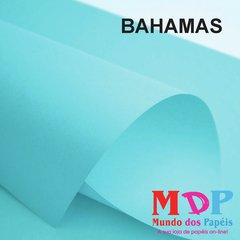 Papel Color Plus Bahamas - Azul 180G A4 10 fls