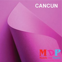 Papel Color Plus Cancun - Rosa Pink 180G A4 10 fls