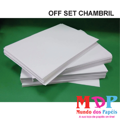 PAPEL OFFSET CHAMBRIL 180G A4 100 FLS
