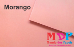 Papel Color Plus Morango - Rosa 180G A4 10 fls