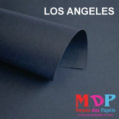 Papel Color Plus Los Angeles - Preto  180G A4 10 fls