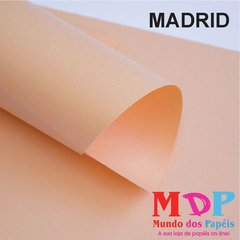 Papel Color Plus Madrid  180G A4 10 fls