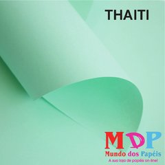 Papel Color Plus Thaiti - Verde 180G A4 10 fls