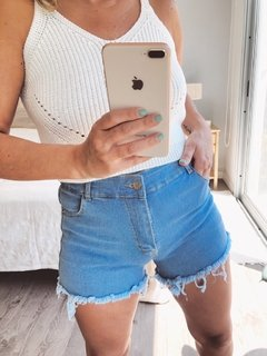 SHORT JEAN VIRGINIA - Vikita Store