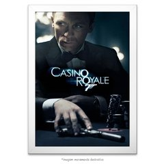 Poster 007 Cassino Royale - comprar online