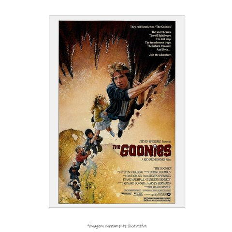 Poster Os Goonies - Clássico
