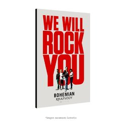 Poster Bohemian Rhapsody - We will rock you na internet