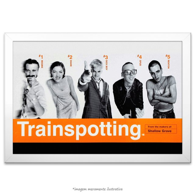 Poster Trainspotting - Sem Limites na internet