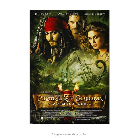 Poster Piratas do Caribe 2 - O Baú da Morte