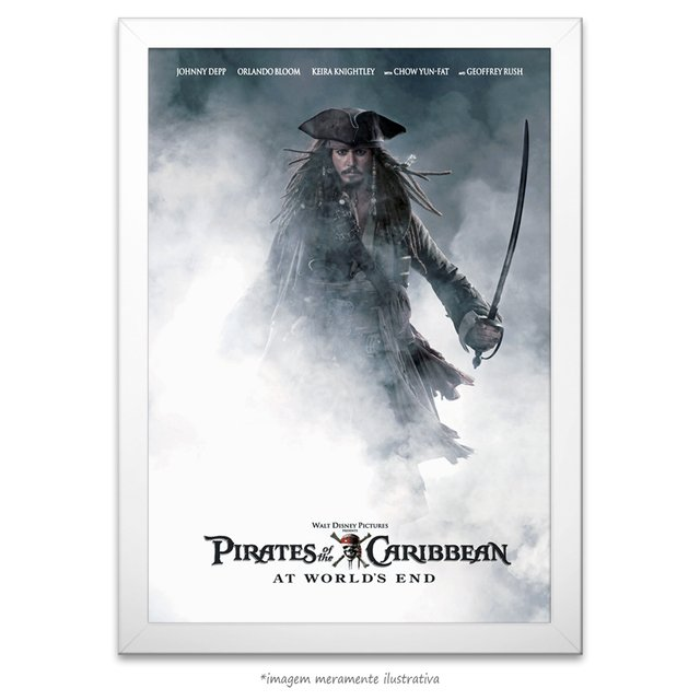 Poster Piratas do Caribe: No Fim do Mundo - comprar online