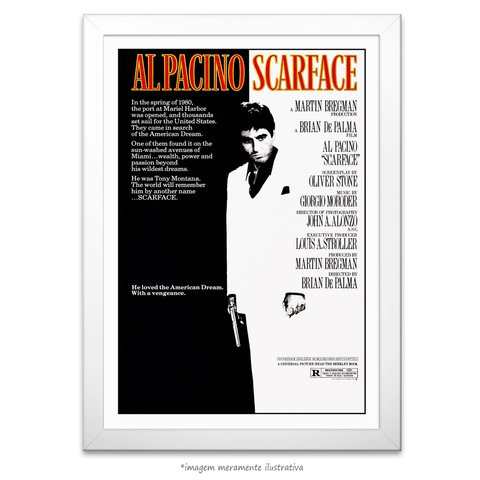 Poster Scarface - comprar online
