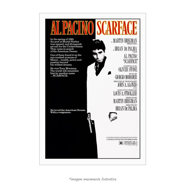 Poster Scarface - QueroPosters.com