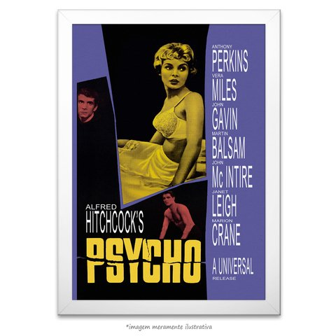 Poster Psicose - comprar online