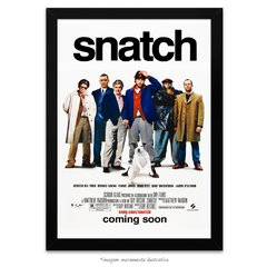 Poster Snatch - Porcos e Diamantes