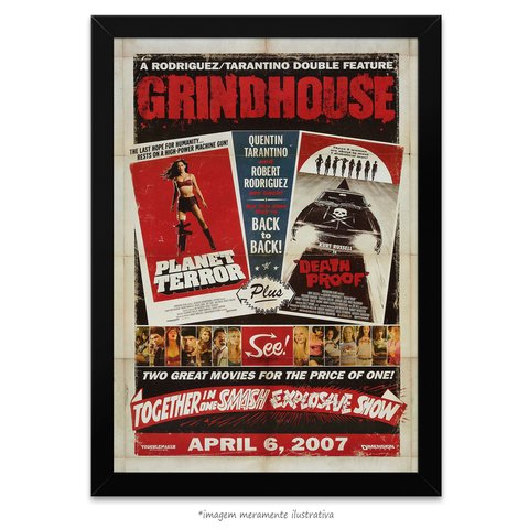 Poster Grindhouse