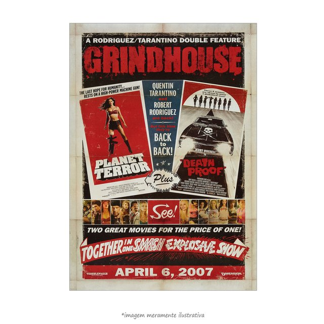 Poster Grindhouse - QueroPosters.com