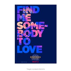 Poster Bohemian Rhapsody - Somebody to love - QueroPosters.com