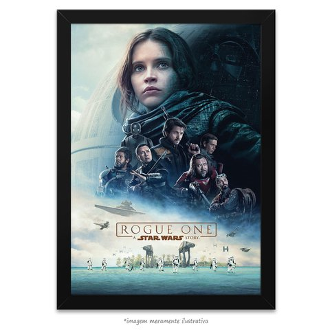 Poster Rogue One: Uma História Star Wars