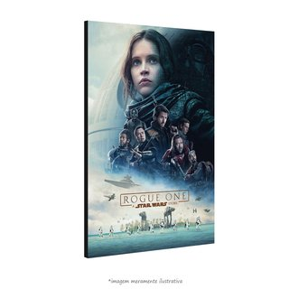 Poster Rogue One: Uma História Star Wars na internet