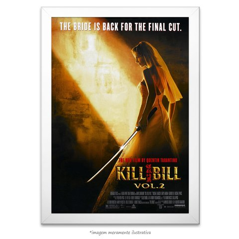 Poster Kill Bill: Volume 2 - comprar online