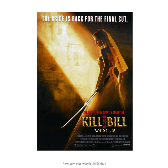 Poster Kill Bill: Volume 2 - QueroPosters.com