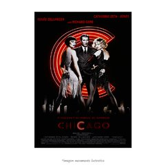 Poster Chicago - musical - QueroPosters.com