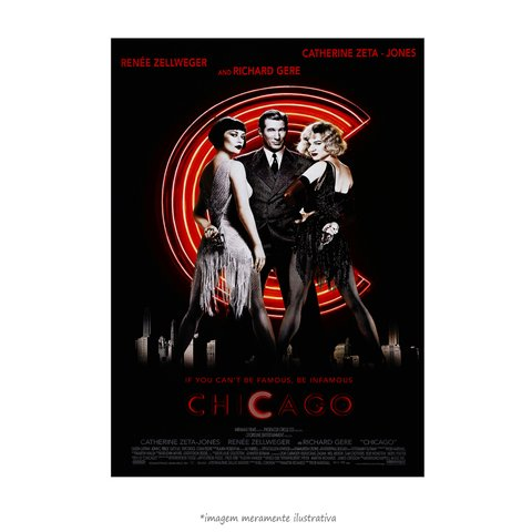 Poster Chicago - musical