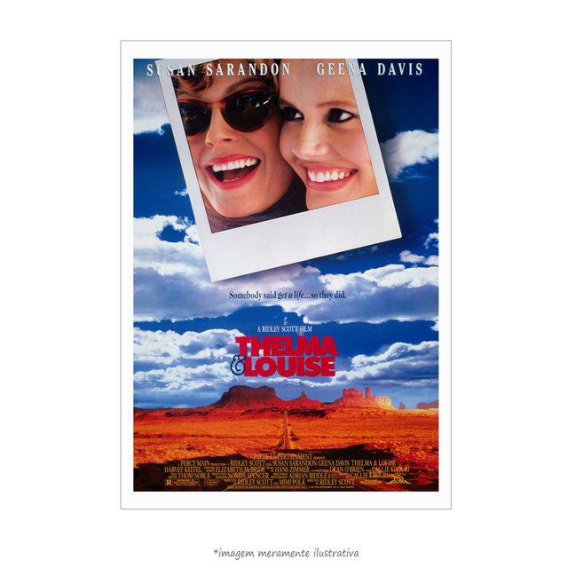 Poster Thelma e Louise - QueroPosters.com
