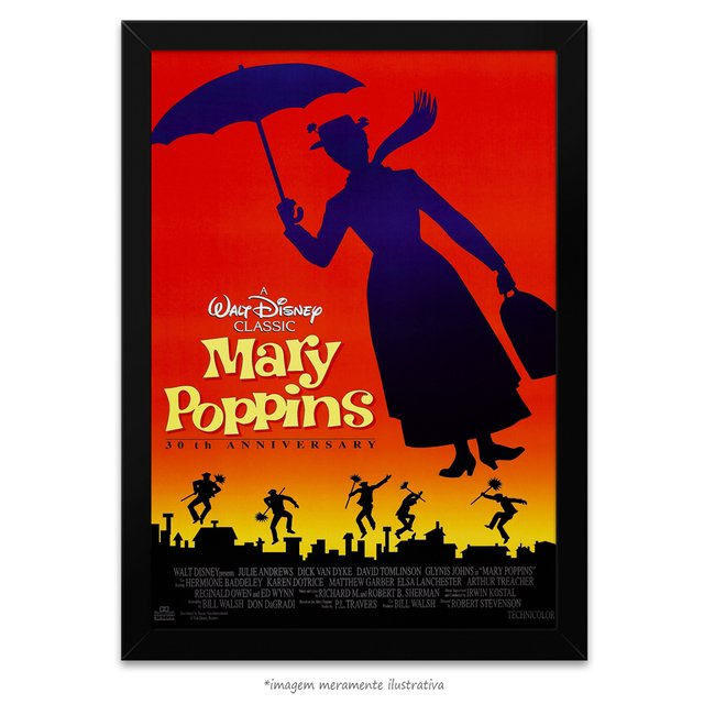 Poster Mary Poppins - comprar online