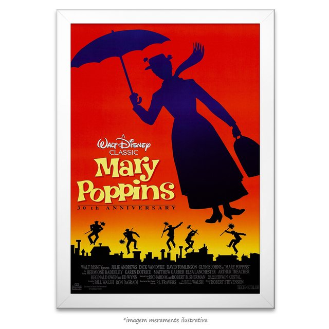 Poster Mary Poppins na internet