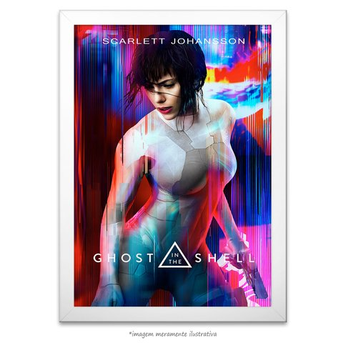 Poster A Vigilante do Amanhã: Ghost in the Shell - comprar online