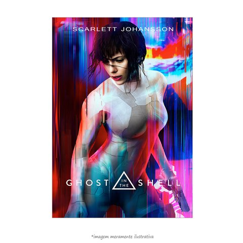 Poster A Vigilante do Amanhã: Ghost in the Shell