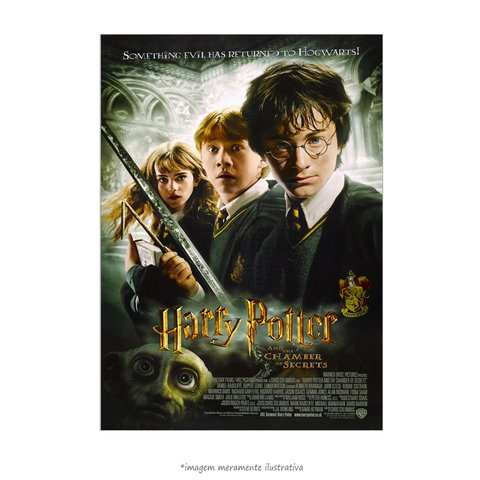 Poster Harry Potter e a Câmara Secreta