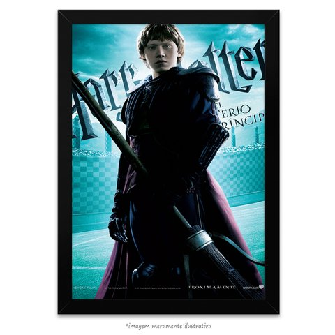 Poster Harry Potter e o Enigma do Príncipe