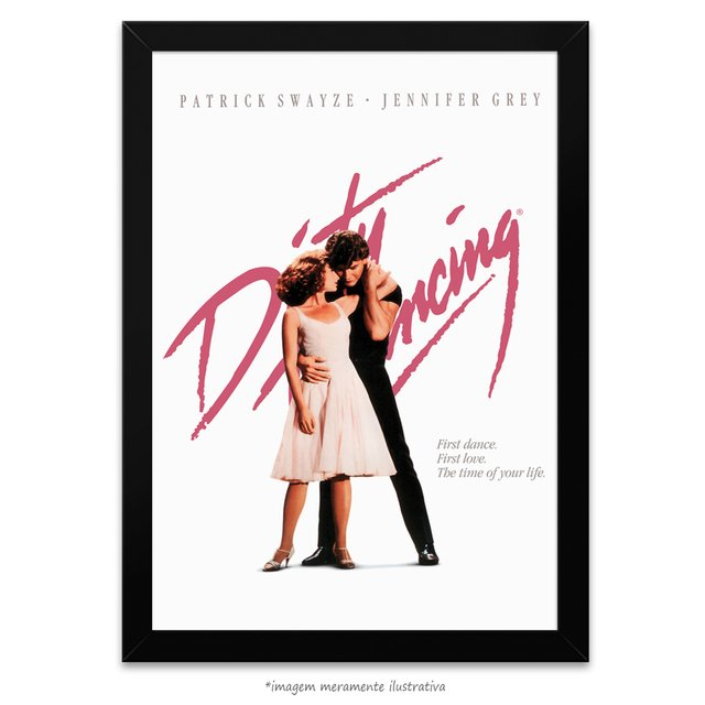 Poster Dirty Dancing - Ritmo Quente