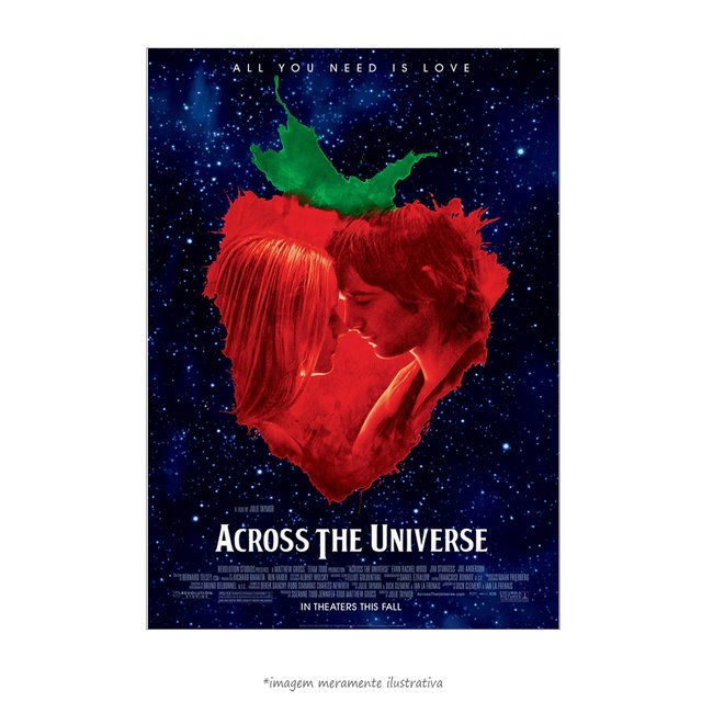 Poster Across the Universe - QueroPosters.com