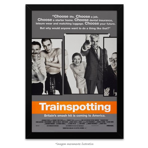 Poster Trainspotting - Sem Limites