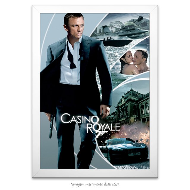 Poster Cassino Royale - comprar online