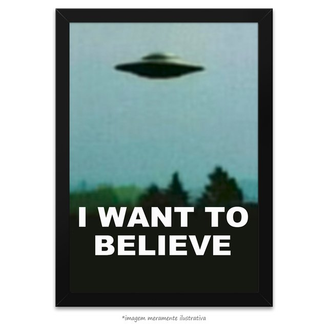 Poster I Want to Believe - Arquivo X