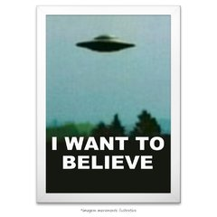 Poster I Want to Believe - Arquivo X - comprar online