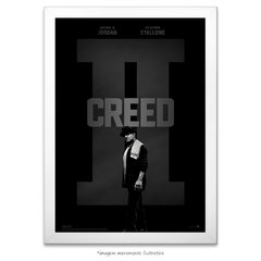 Poster Creed II - Sylvester Stallone - comprar online