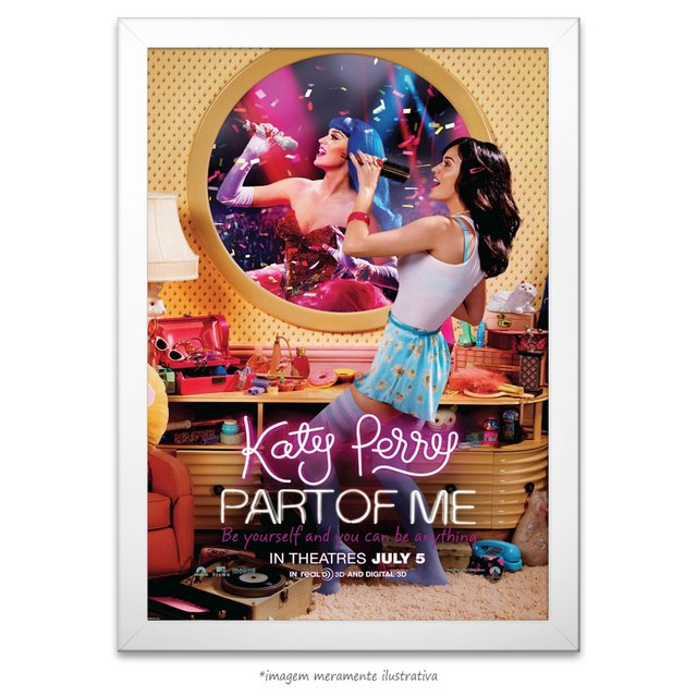 Poster Katy Perry Part Of Me - comprar online