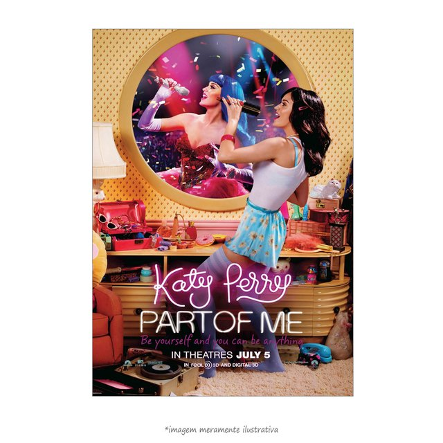 Poster Katy Perry Part Of Me - QueroPosters.com