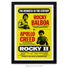 Poster Rocky II: A Revanche