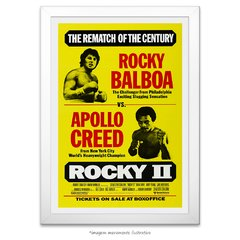Poster Rocky II: A Revanche - comprar online