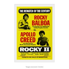 Poster Rocky II: A Revanche - QueroPosters.com